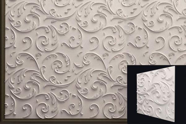 Декоративные гипсовые 3д панели от производителя в Киеве