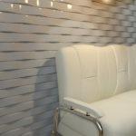 Декоративные гипсовые 3д панели Кирпичи в интерьере