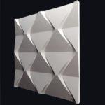 3д панель Пирамидки из гипса