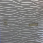 Гипсовая 3д панель Амбровая вуаль в Украине
