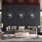 Декоративные гипсовые 3д панели Эфир в интернет-магазине