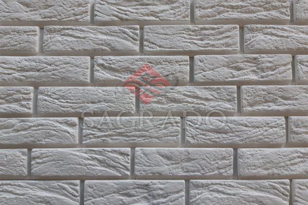 Декоративная гипсовая плитка под кирпич Париж со швом В Киеве