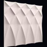 Декоративная 3д панель для стен Буфы от компании Sagrado Украина