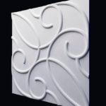 Декоративные гипсовые 3д панели Вензель