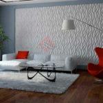 Декоративные 3д панели из гипса Пламя