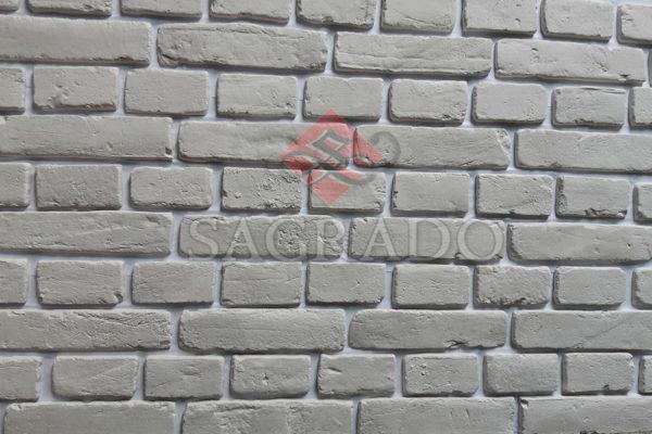 Гипсовый кирпич (плитка) белая под покраску в Киеве